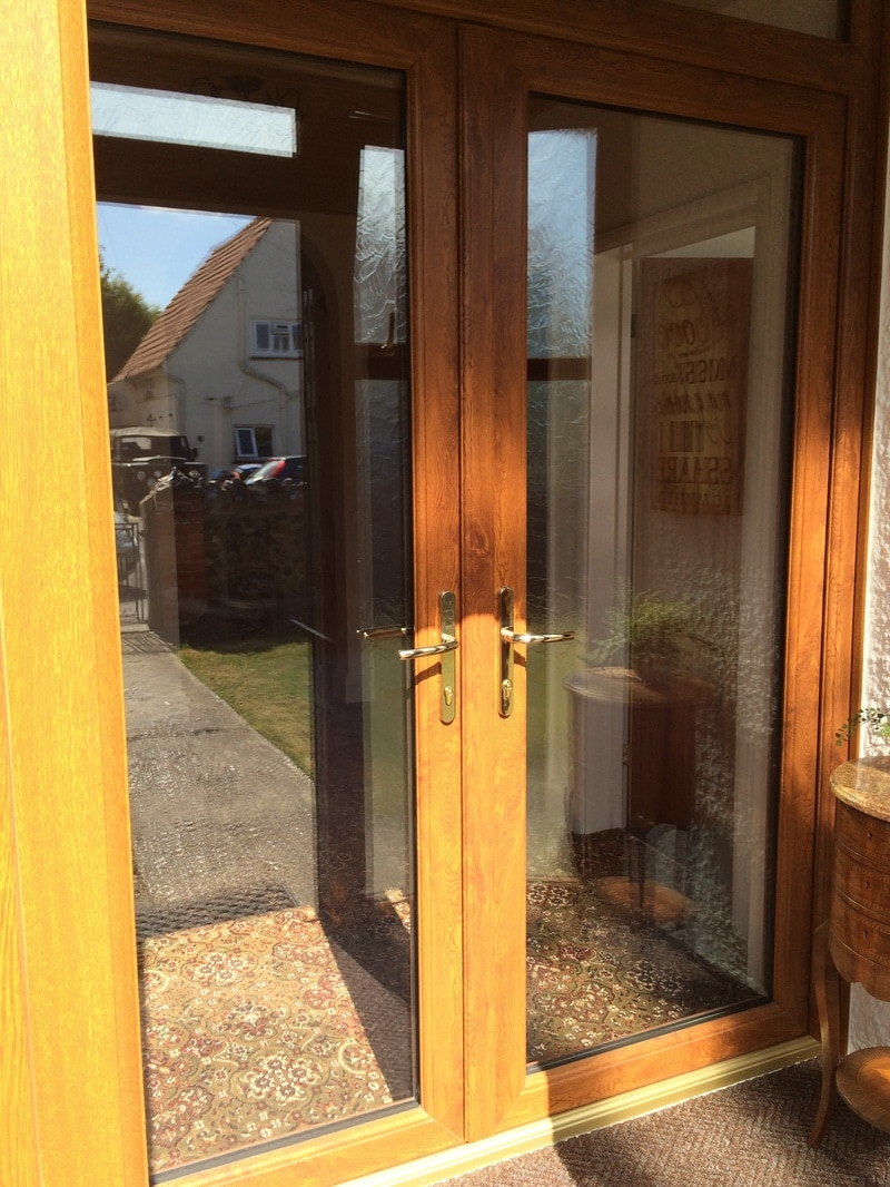 Upvc french doors kent home improvements 01843 299000 for Glazed french doors